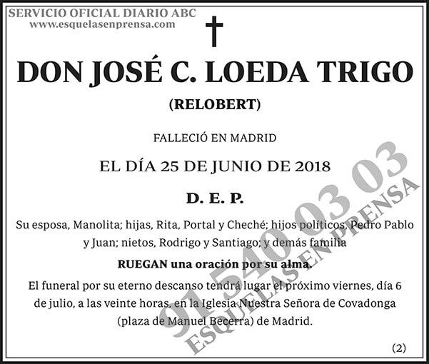 José C. Loeda Trigo